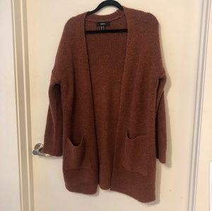 F21 Chunky Long Cardigan